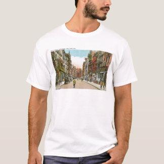 Mott Street, CHINATOWN, New York City (Vintage) T-Shirt