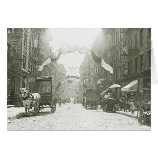 Mott Street Religious Festival, 1908 Card