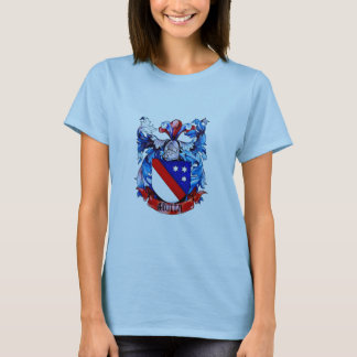 Motta Coat of Arms Ladies Baby Doll (Fitted) T-Shirt