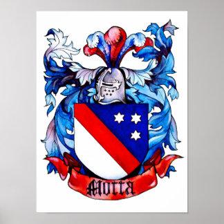 Motta Coat of Arms Print