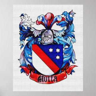 Motta Coat of Arms Tiled Poster