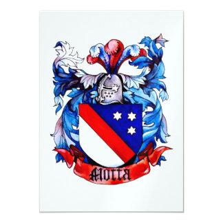 Motta Family Arms Invitation