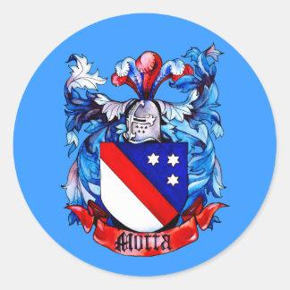 Motta Family Arms Sticker
