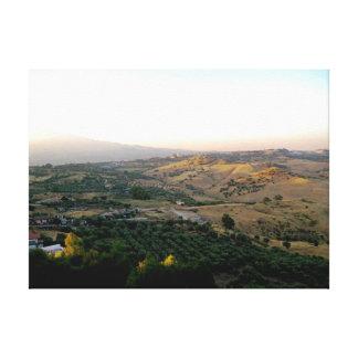 Motta Italy Landscape Photograph Canvas Print
