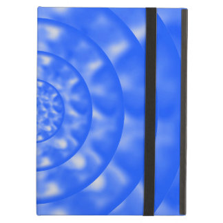 Mottled Blue and White Ripples Cover For iPad Air