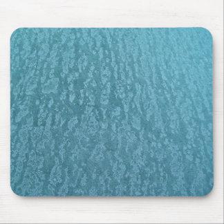 Mottled Blue Mouse Pads