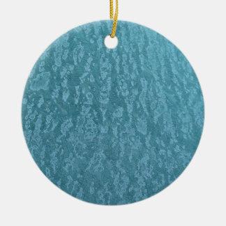 Mottled Blue Christmas Tree Ornaments