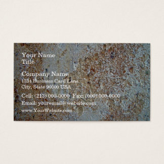 Mottled brick texture business card