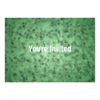Mottled Green Card
