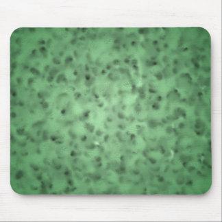 Mottled Green Mousepads