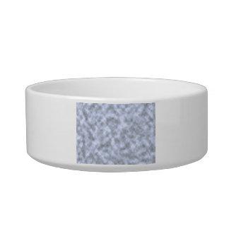 Mottled light blue black pattern background cat bowls