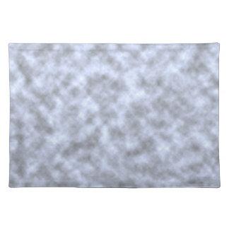 Mottled light blue black pattern background cloth placemat