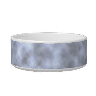 Mottled light blue black pattern background pet water bowls