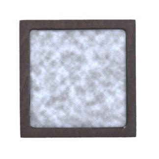 Mottled light blue black pattern background premium trinket box