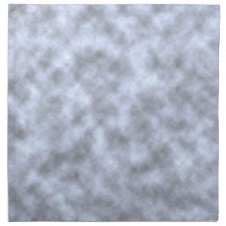 Mottled light blue black pattern background printed napkins