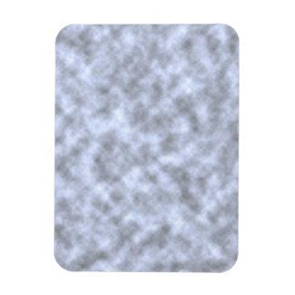 Mottled light blue black pattern background rectangular photo magnet