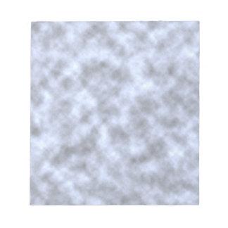 Mottled light blue black pattern background scratch pad
