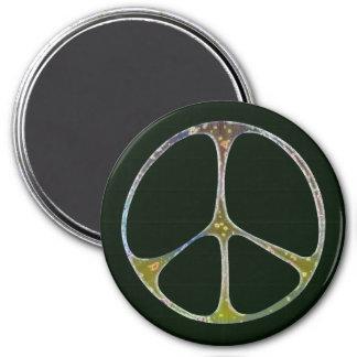 Mottled Peace Magnet
