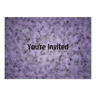 Mottled Purple Card