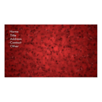 Mottled Red Business Card Template