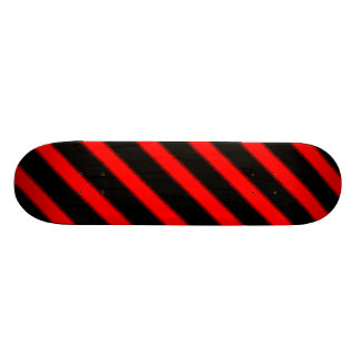 Mottled Red Lines Skateboard