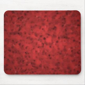 Mottled Red Mousepad