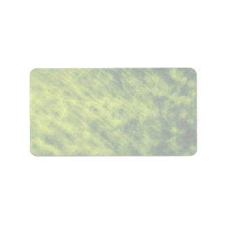 Mottled rich green personalized address labels