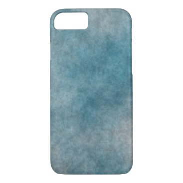 Mottled Shades of Turquoise and Gray iPhone 8/7 Case