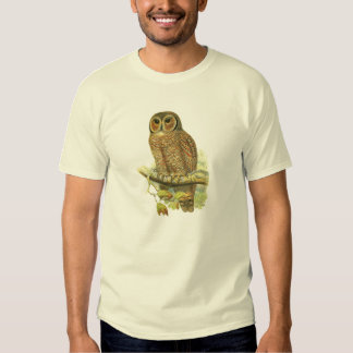Mottled Wood Owl T Shirt