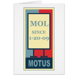 MOTUS ICON: MOL SINCE 1-20-09 CARD