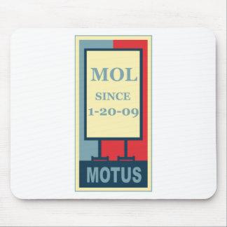 MOTUS ICON: MOL SINCE 1-20-09 MOUSEPADS