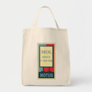 MOTUS ICON: MOL SINCE 1-20-09 TOTE BAG