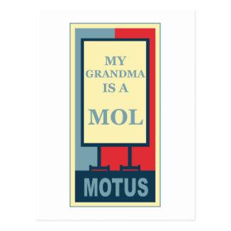 MOTUS ICON: MY GRANDMA IS A MOL POST CARDS