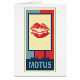 MOTUS ICON: SMOOCH CARD