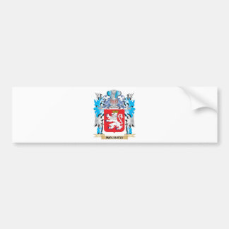 Moubray Coat of Arms - Family Crest Car Bumper Sticker