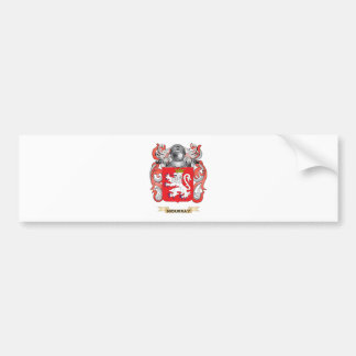 Moubray Coat of Arms (Family Crest) Car Bumper Sticker