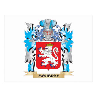 Moubray Coat of Arms - Family Crest Post Card