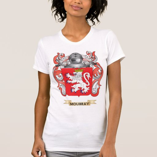 Moubray Coat of Arms (Family Crest) Tee Shirt