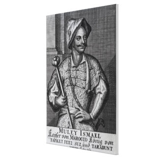 Moulay Ismail Ibn Sharif, 1719 Canvas Print
