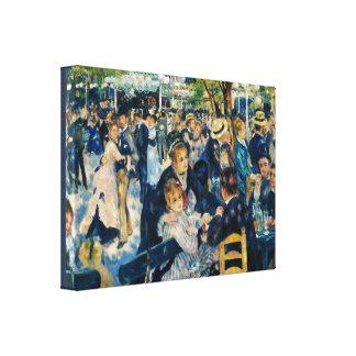 Moulin de la Galette by Pierre-Auguste Renoir Canvas Print