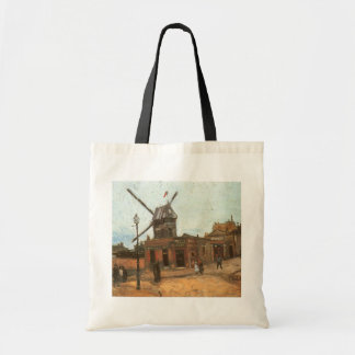 Moulin de la Galette by Vincent van Gogh, Windmill Tote Bag