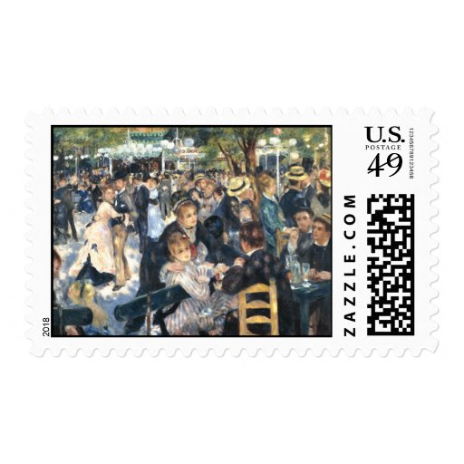 Moulin de la Galette- Montmartre Paris Postage Stamp