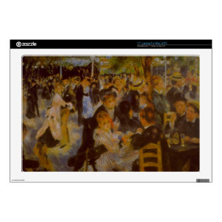 """Moulin Galette by Pierre Renoir Decals For 17"""" Laptops"""