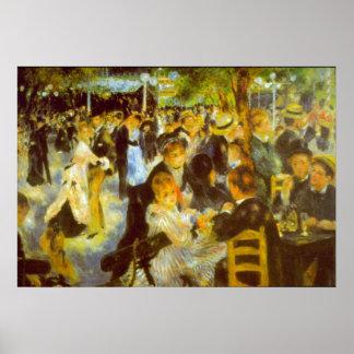 Moulin Galette by Pierre Renoir Posters