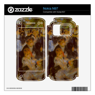 Moulin Galette by Pierre Renoir Decal For Nokia N97