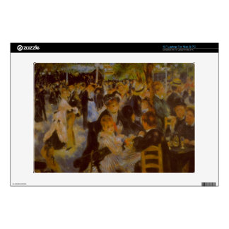 "Moulin Galette by Pierre Renoir 13"" Laptop Decal"