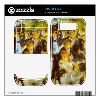 Moulin Galette by Pierre Renoir Skins For The Nokia E63