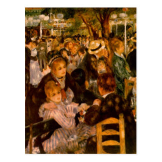 Moulin of the Galette dances AT him Postcard