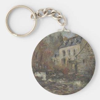 Moulin Simondou a Pont Aven by Gustave Loiseau Key Chains