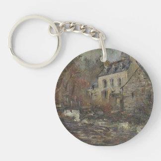 Moulin Simondou a Pont Aven by Gustave Loiseau Acrylic Key Chain